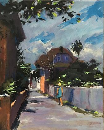 SOLD —A WALK by the ST AUGUSTNE ART ASSOCIATION
