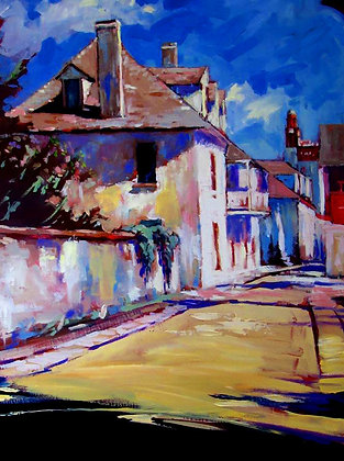 SOLD- Sunlit Aviles Street Morning