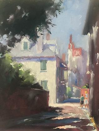 SOLD - Walk Down Sunlit Aviles Street