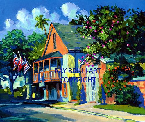 Morning St. Francis Street - Tovar House