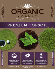 1cf Organic Valley®  Premium Top Soil webs