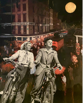 RIDING UNDER THE MOON