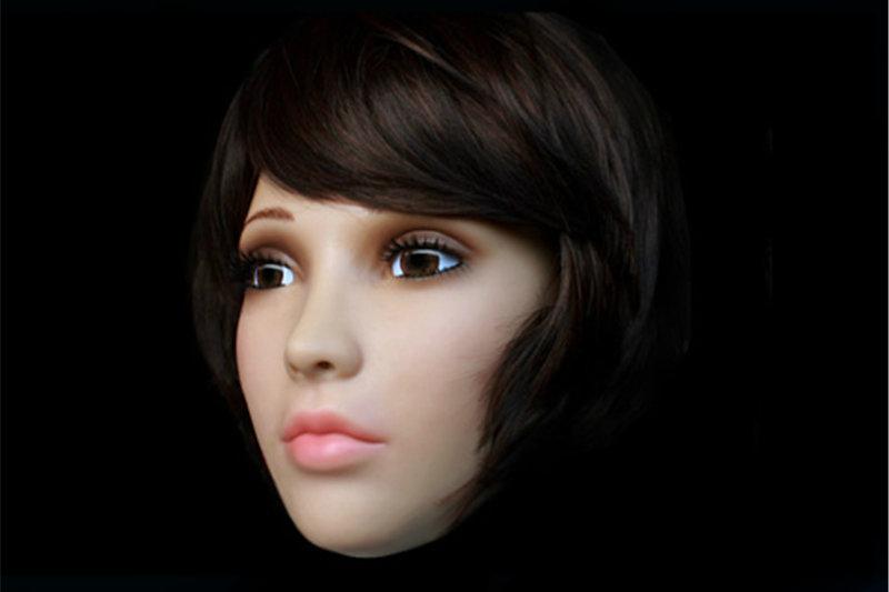 Top Quality Realistic Female Silicone Masks Female Mask Cross Dressing Halloween Full Head Mask Realistic Mask Sissy Boy