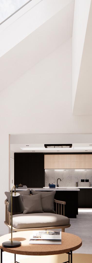 Living Room - Internal Conversion | Cherry Architects
