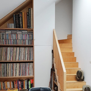 Plywood Furniture and Staircase Design