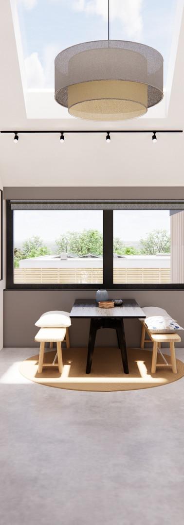 Bungalow Conversion - Internal View | Cherry Architects