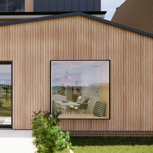 Timber Clad Rear Extension