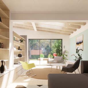 Extension Design with Plywood Fixtures