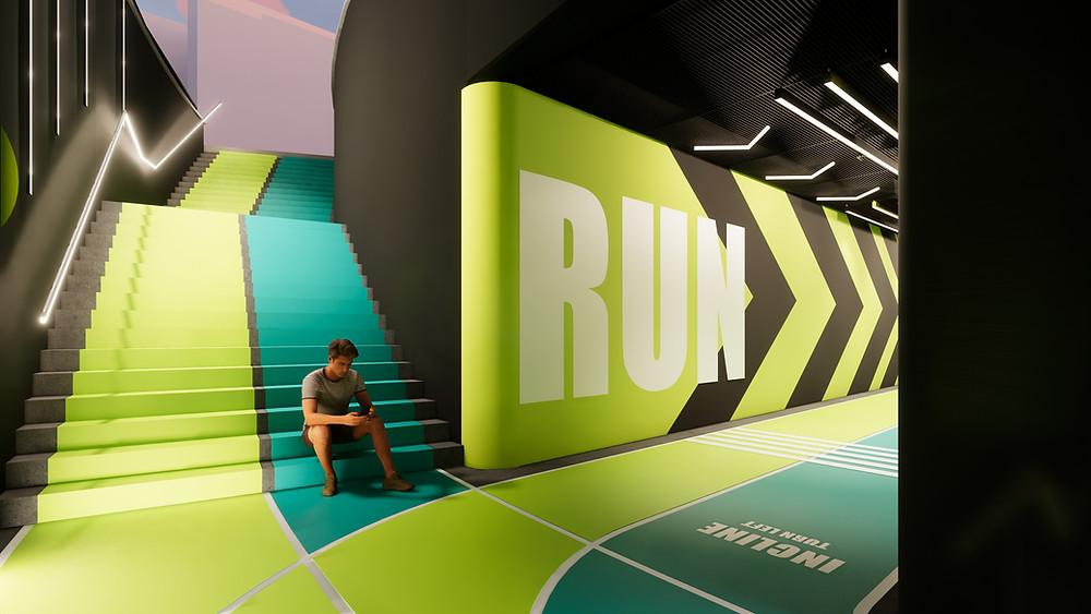 Croydon Runs - Underground Running Track