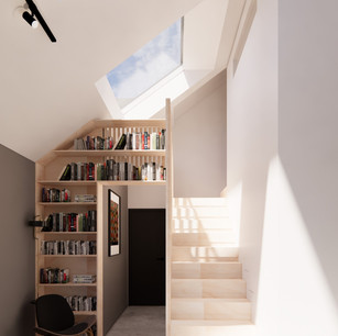 Plywood Staircase Design