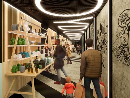 Croydon Shops - Themed Market Corridor Croydon Shops - Themed Market Corridor