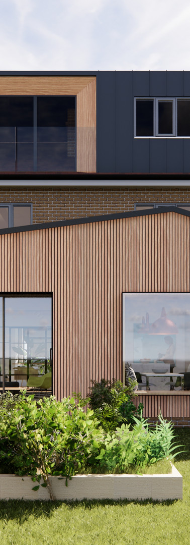 Rear Extension and Loft Extension Design | Cherry Architects