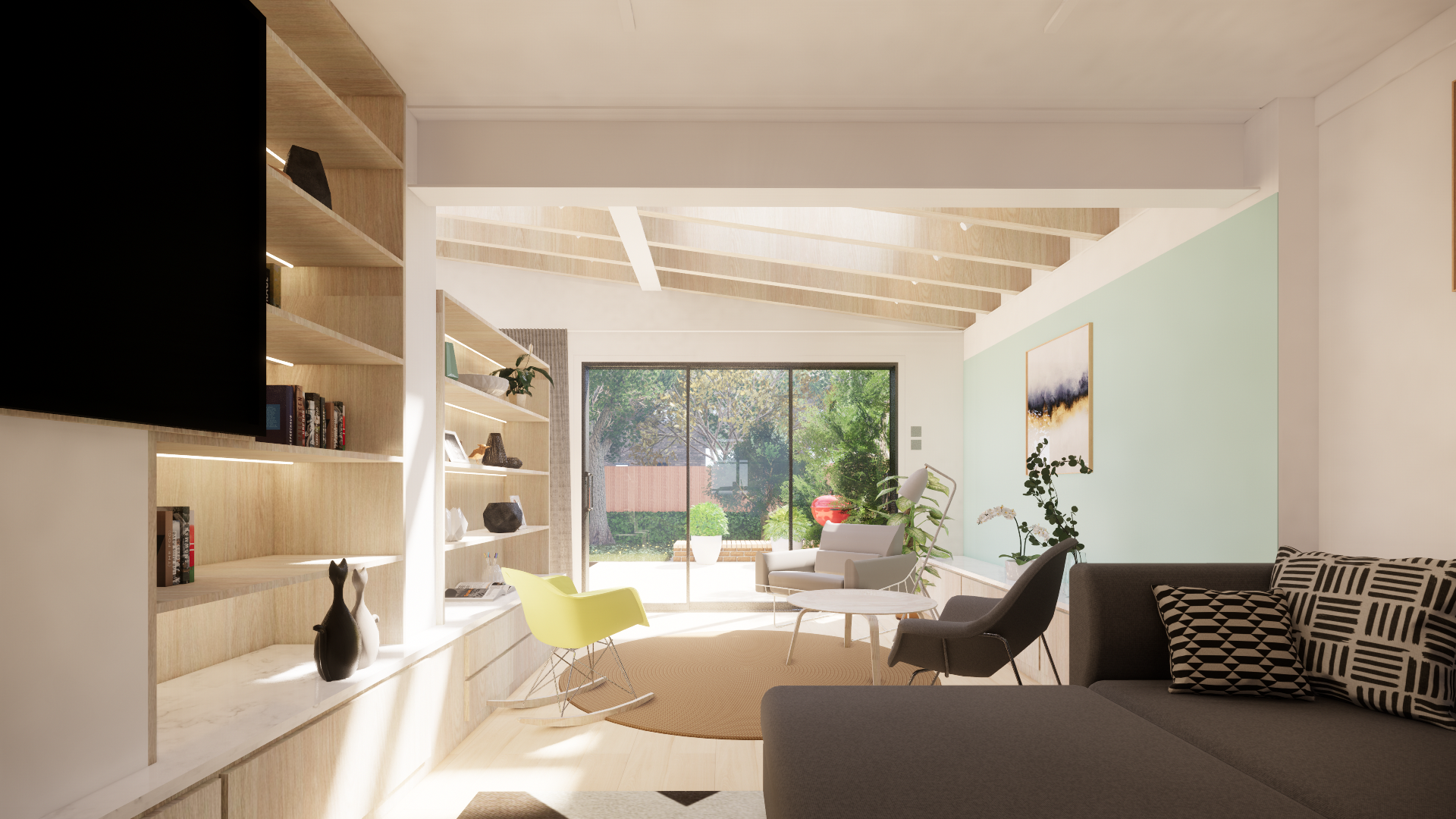 Living Room Rear Extension