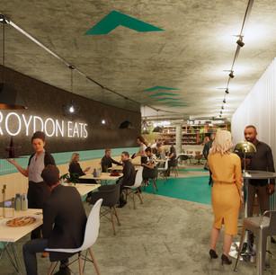 Pop Up Restaurant Design for Croydon Subway