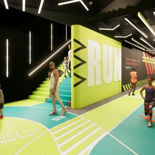 Underground Running Track Design