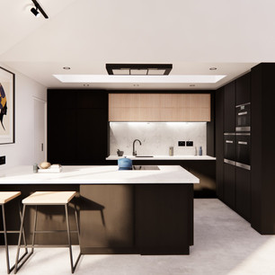 Kitchen Design to Open Plan Space