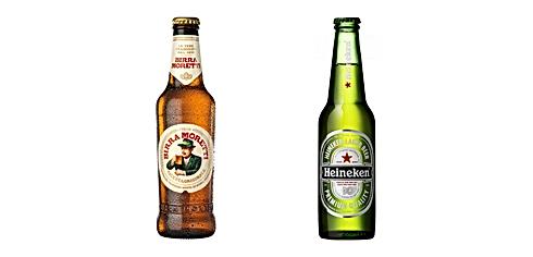 Birra Moretti, Birra Heineken