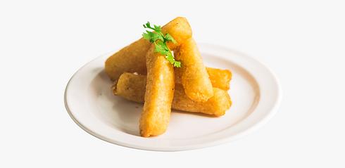 Bastoncini di yucca fritta