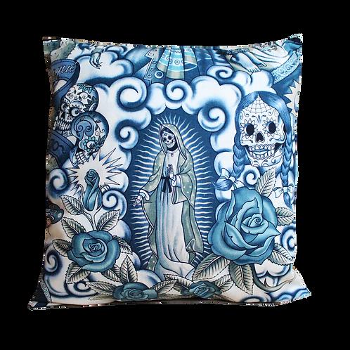 Coussin - Santa muerte - Mexican Skull