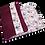 Thumbnail: Couvre-livre de poche - Douceur de fleur