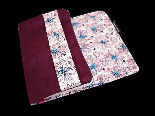 Couvre-livre de poche - Douceur de fleur