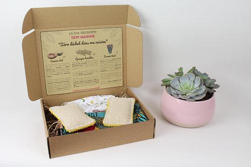Box cadeau découverte - Zéro déchet dans ma cuisine