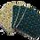 Thumbnail: Lot de 7 cotons démaquillants BIO - Shiny baroque