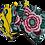 Thumbnail: Lot de 7 cotons démaquillants - Toucan tropical