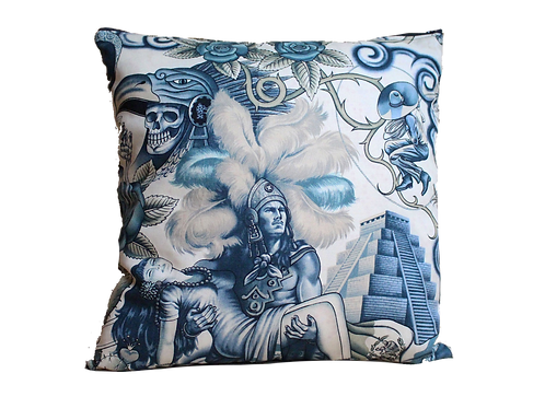 Coussin - Santa muerte - Mexican Lovers