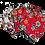 Thumbnail: Lot de 7 cotons démaquillants - Santa Muerte