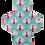 """Thumbnail: Serviette Hygiénique lavable - """"Lady Paon"""""""