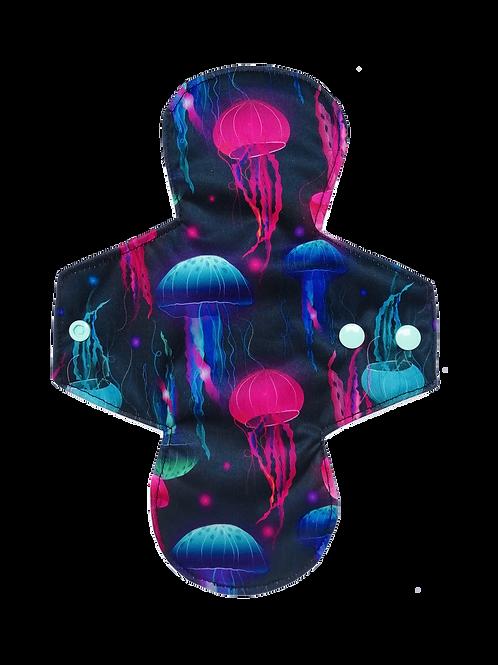 """Serviette Hygiénique lavable - """"Medusa Queen"""""""