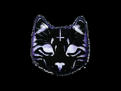 Lot de 6 chatons démaquillants -Evil Cat - Lilas métallisé