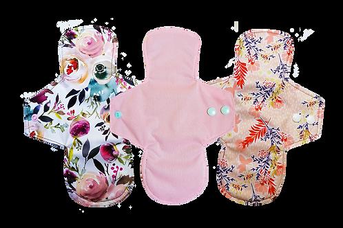 Nouvelle collection - Lot de 3 protèges-slips lavables