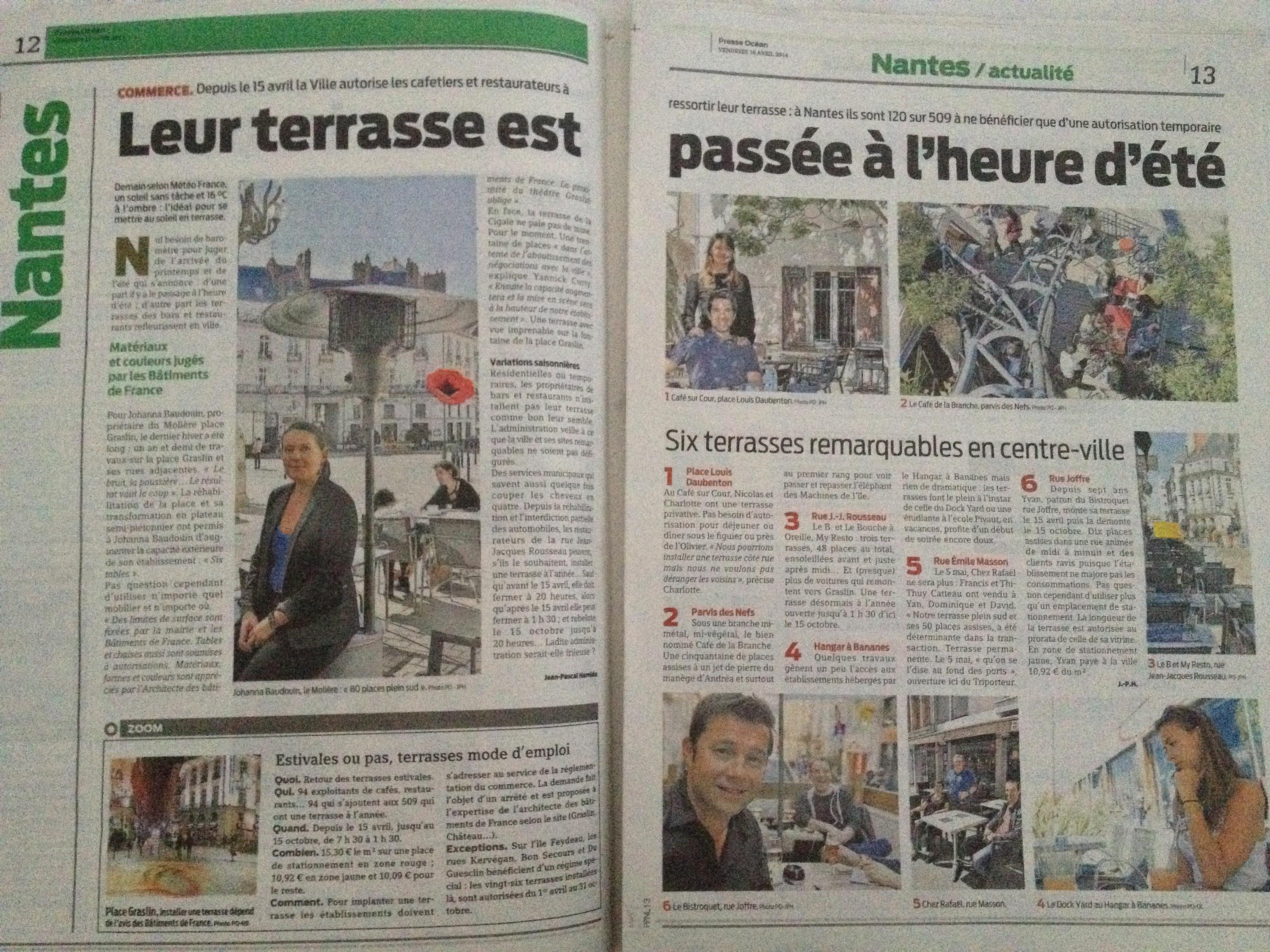 Presse Océan 18/04/2014