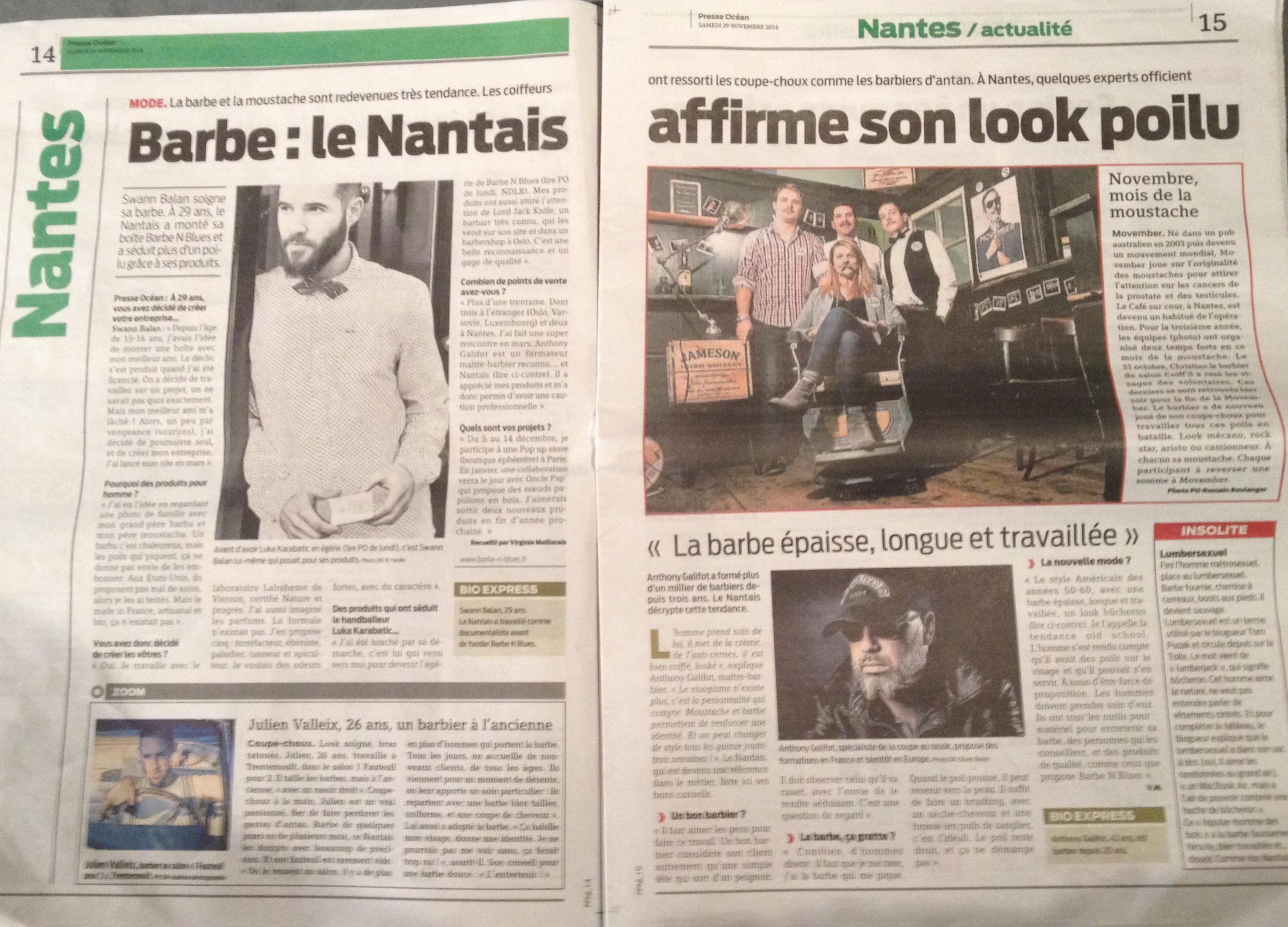 Presse Océan 29 novembre 2014