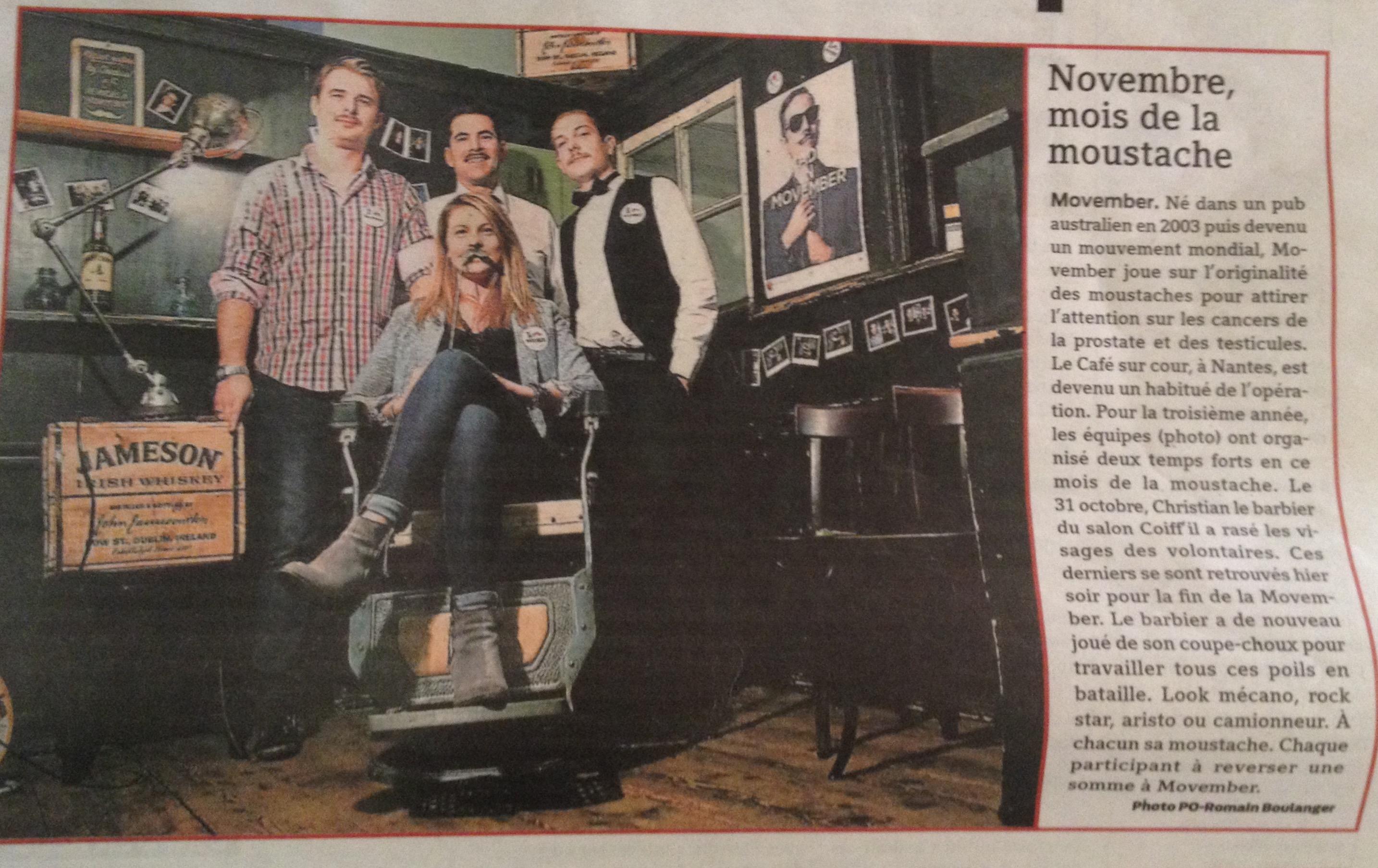 Presse Ocean 29 novembre 2014