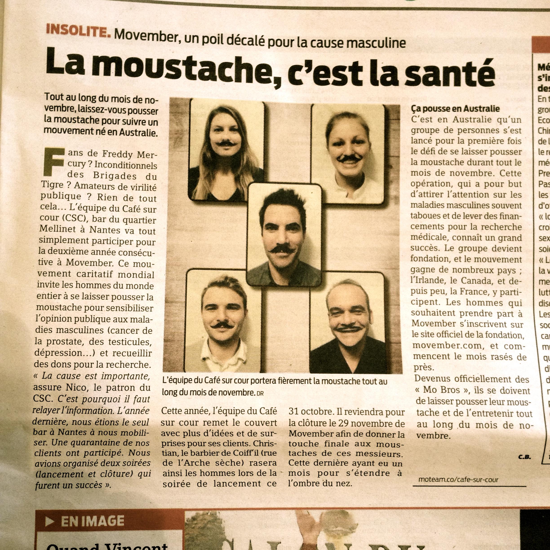 Ouest France - 3 octobre 2013