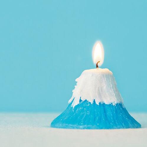 Mount Fuji Candle