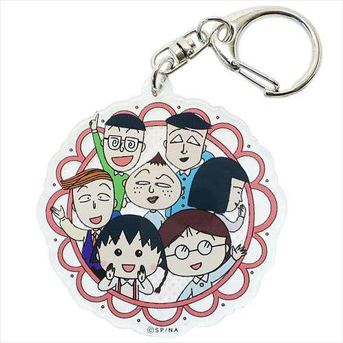 Chibi Maruko Acrylic Keychain - Mina