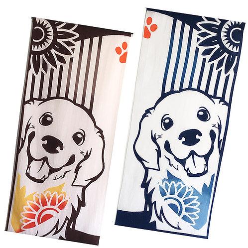 Golden Retriever Towel Tapestry