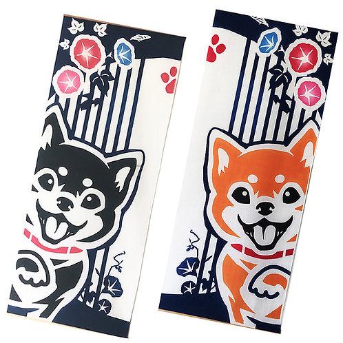 Shiba Inu Towel Tapestry