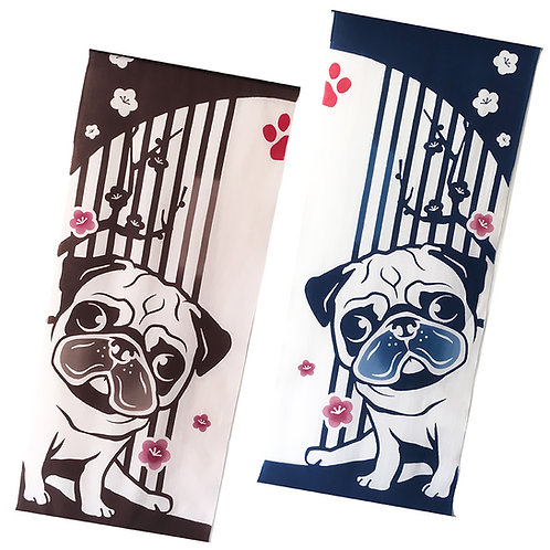 Pug Towel Tapestry
