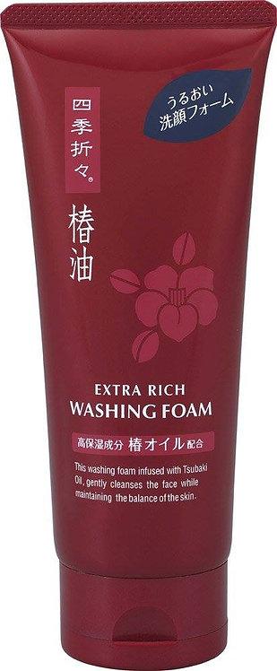 Kumano Yushi Tsubaki Oil Extra Rich Washing Foam