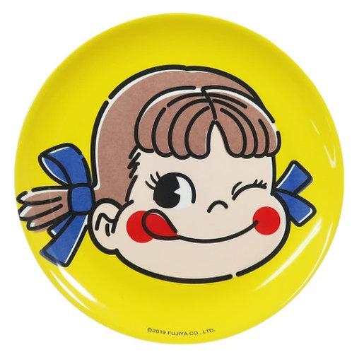 Fujiya Peko melamine plate Yellow
