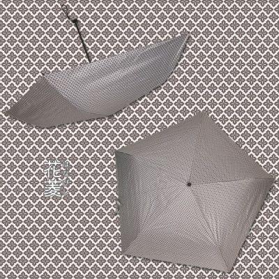 DENTRA Japanese Pattern Foldable Umbrella (Flower-shaped Lozenge)