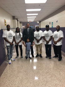 Mentoring Kids at Wheatley HS