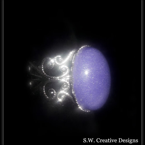S.W. Purple Shimmer Ring