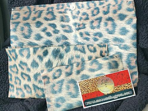 Leopard Print Clutch Set