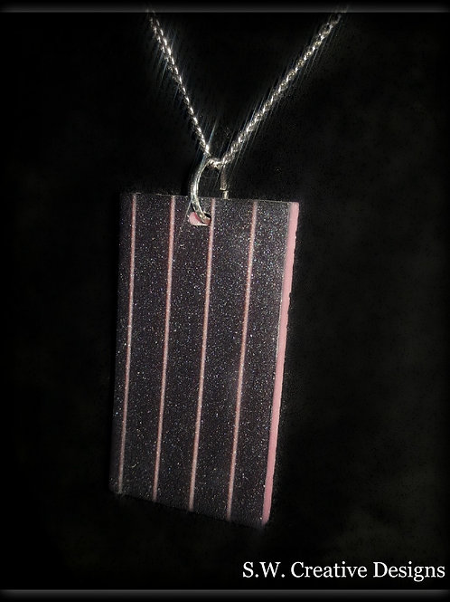S.W. Pink Pinstripes and it Glows in the Dark